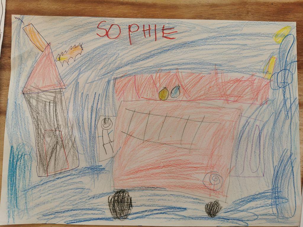 Sophie, 5 Jahre